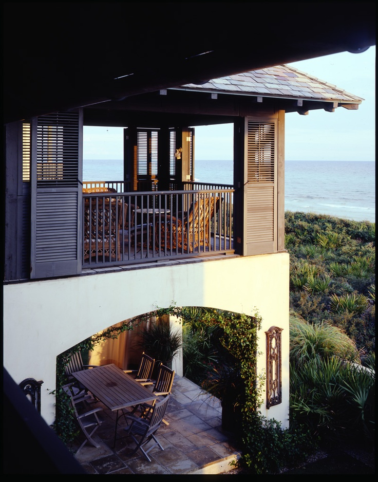 stacked beach porches by mcalpine tankersley