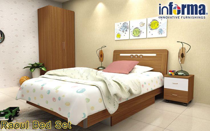 Raoul bed set | informa.co.id