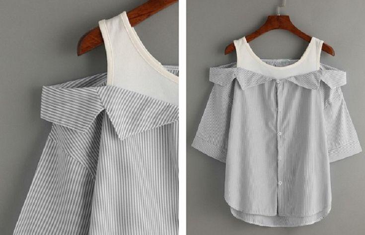 Manželovy staré košile na vyhození jsem vzala do rukou a udělala z nich doslova zázrak do mého šatníku. Toto budete chtít také! - ProSvět.cz