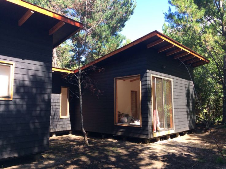 Casa 33, Chile MxRz Architecture Wood House, Forest Cabin