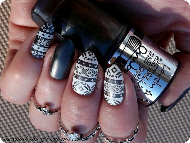 LOVELY Ombre  Metallic Nail Polish nr 1