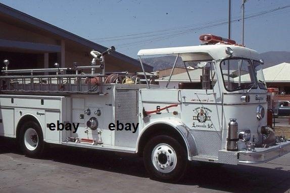 Ensenada Mexico - 1974 Seagrave Pumper X-Palm Springs CA  - Fire Apparatus Slide