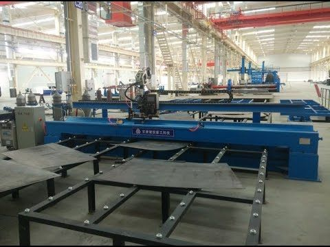 Steel Plate Butt Joint Long Seam Welding Machine 14m largest in the worl...