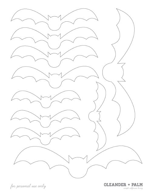 Oleander and Palm: Wall of Bats