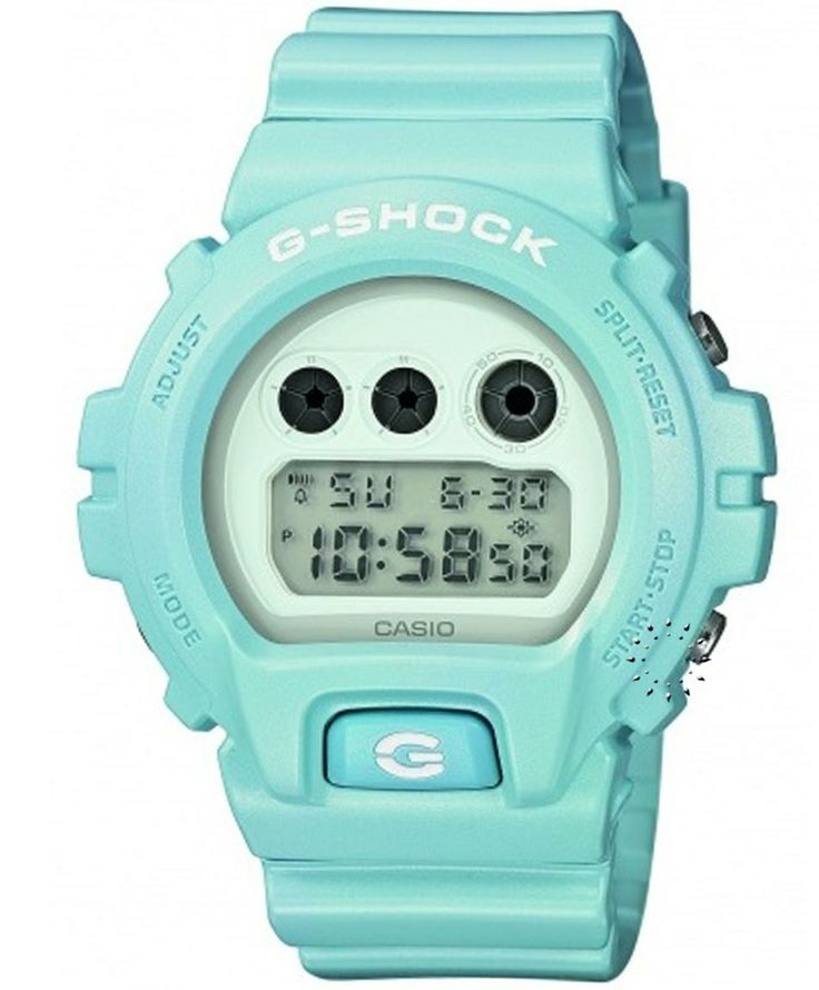 CASIO G-Shock Light Blue Rubber Strap Η τιμή μας: 118€ http://www.oroloi.gr/product_info.php?products_id=34538