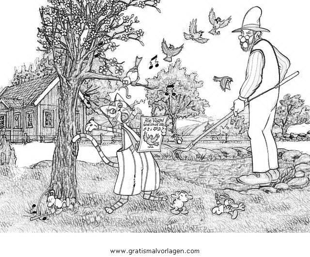Gratis Malvorlage Petterson Findus 14 In Comic Trickfilmfiguren Petterson Und Findus Zum Ausdrucken Und Au Petterson Und Findus Findus Pettersson Und Findus