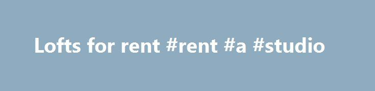 Lofts for rent #rent #a #studio http://apartments.remmont.com/lofts-for-rent-rent-a-studio/  #lofts for rent # I met Peter Marczak in early 2015 during a very difficult and stressful time in my life. Since that time he has sold 2 homes and bought another 2 for me and my children. The first home sold the day after it was put on the market. My second home sold 4 days before our registered offer date. He was also very skilled in getting me a great price for the new homes I purchased. Peter goes…