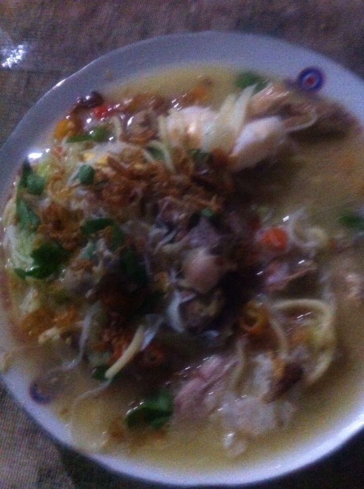 The winner of Bakmi Jawa! Super yummy