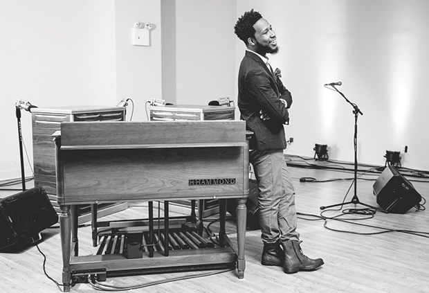 Snarky Puppy keyboardist Cory Henry will school your soul come Sunday.