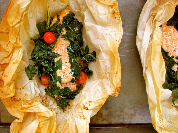 Fish baked in parchment paper | Food | Pinterest