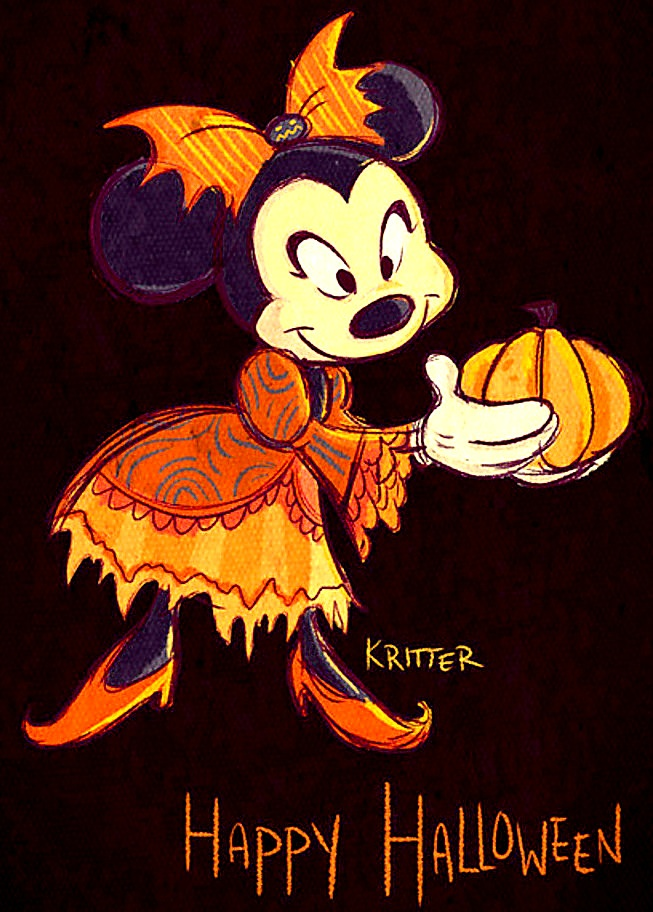 i saw this really cute photo of minnie mouse halloween park costume and i kinda want it - Mickey Minnie Halloween