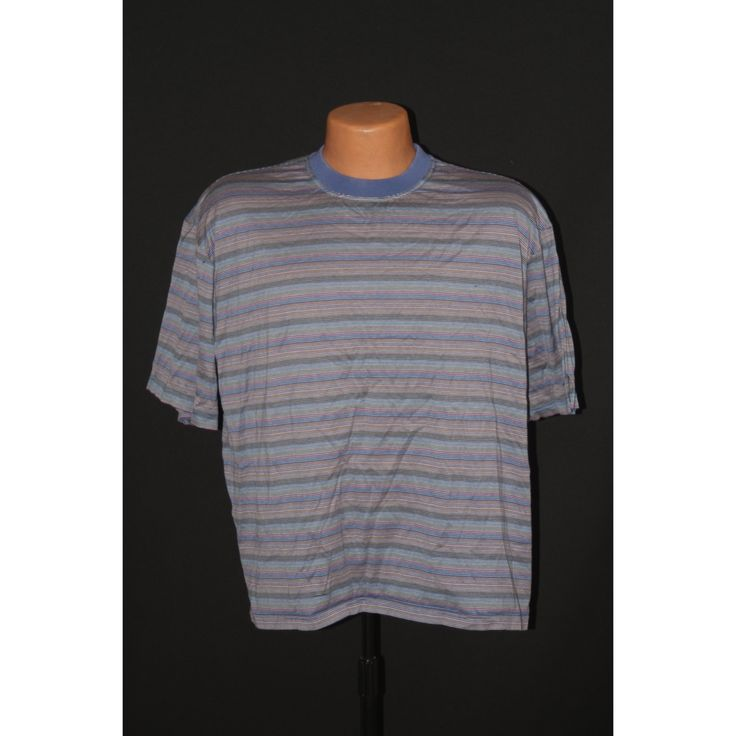 Franco Russo Striped Made in Italy Tshirt vintage 1990s
