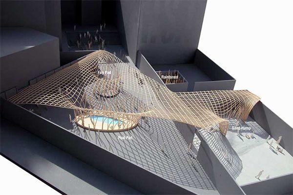 MarietaEstateQuieta: Arquitectura Efímera de N Architects