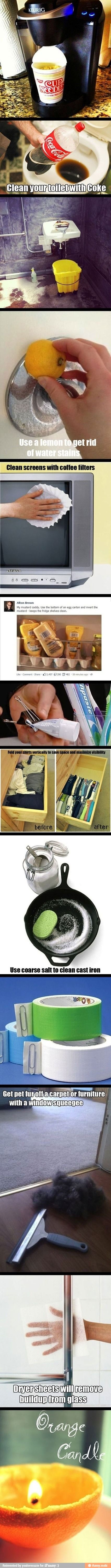 Useful life hacks; Youre Welcome!