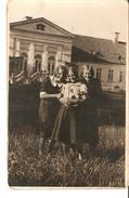 k. Old Photo of 3 Girl Scoolgirls Pupils Spring School Graduation Class 6 - signed in 1940 | For sale on Delcampe