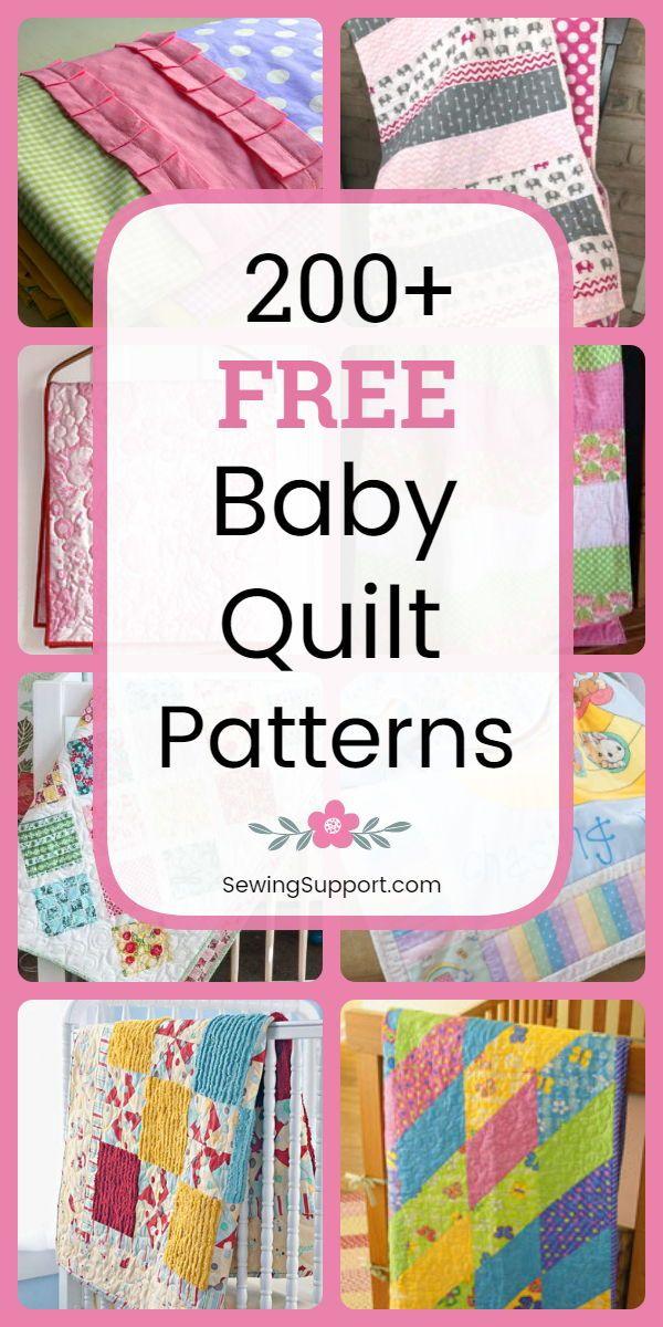 260+ Free Baby Quilt Patterns | Free baby quilt patterns, Baby