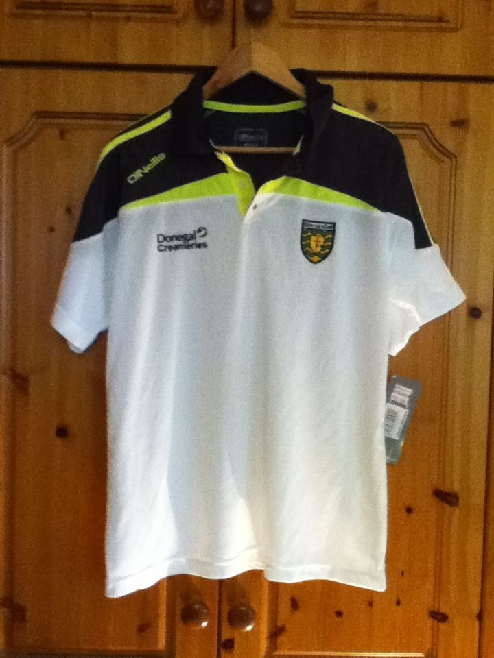 Donegal Post Game Gaelic Football Training Jersey 2013 to 2014 Medium Adult GAA