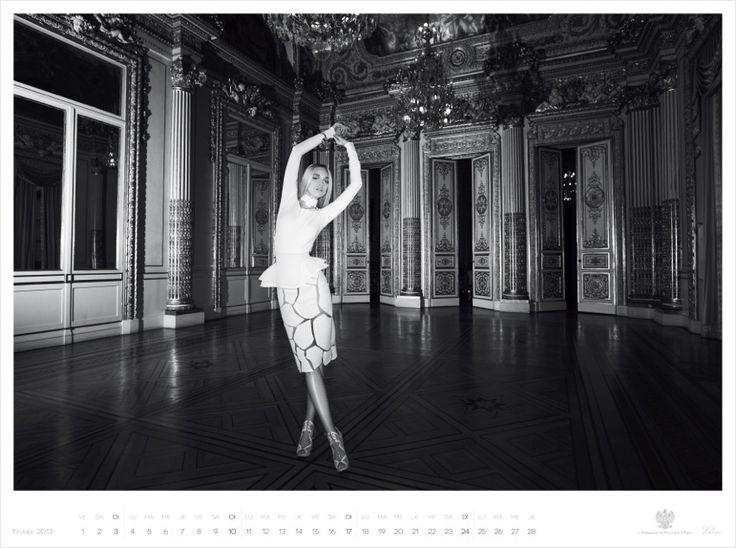 2013 Calendar for Polish Embassy in Paris by Piotr Stoklosa