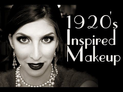 Wearable 1920's Inspired Makeup Tutorial perfect for gatsby date night