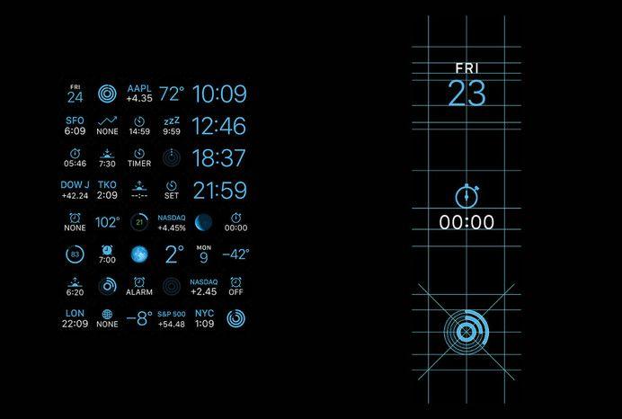 Apple Watch GUI Design