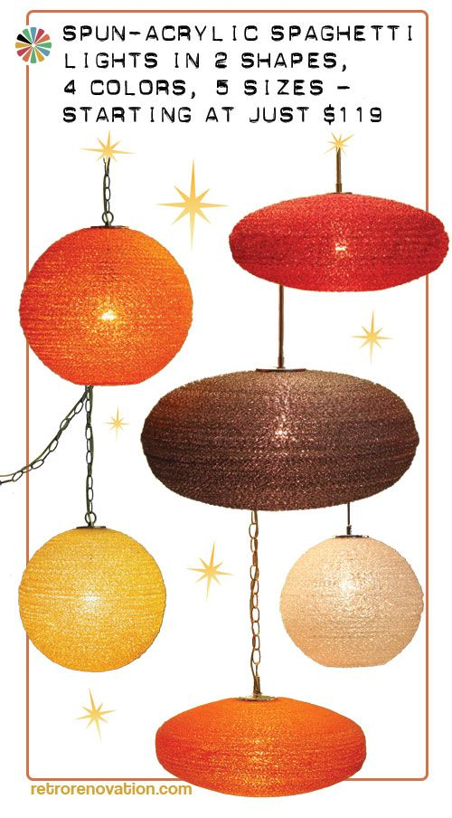 What my room needs next. A colorful galaxy of Spaghetti Lights — 2 shapes, 4 colors, 5 sizes — starting at just $119