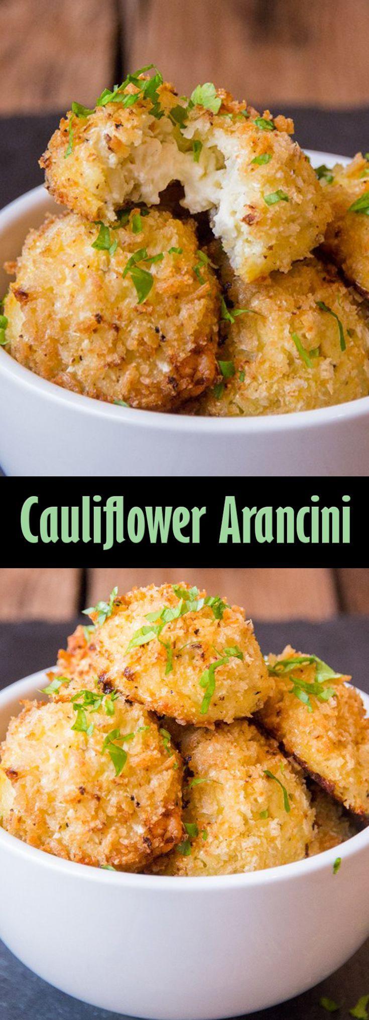 Cauliflower Arancini