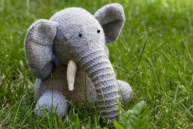 Pattern from Knitted Wild Animals. Talk about your knitting adventures http:/...
