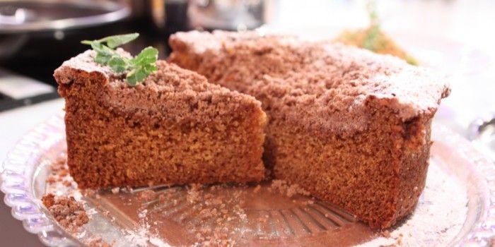 Bolo de mel com crosta de canela - Chef Hernâni Ermida