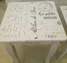 HIMLARUM - möbler shabby chic; wonderful blog with creative painted furniture!