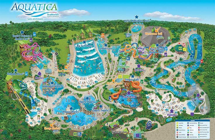 Aquatica In San Antonio Texas Vs Schlitterbahn New