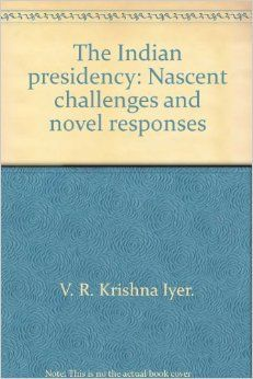 This is a 1988 book that discusses the Indian presidency.