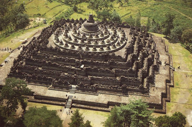 Borobudur Temple, Magelang, Central Java