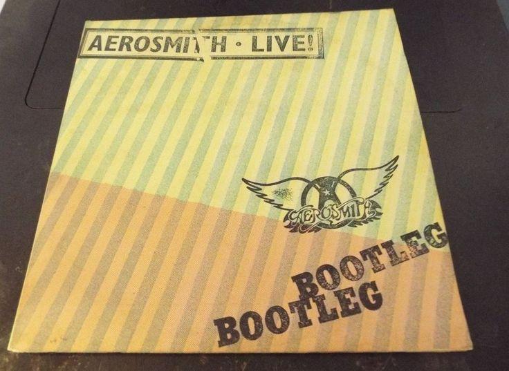 Aerosmith Live Bootleg Vinyl LP Record Album 1978 #ArenaRock