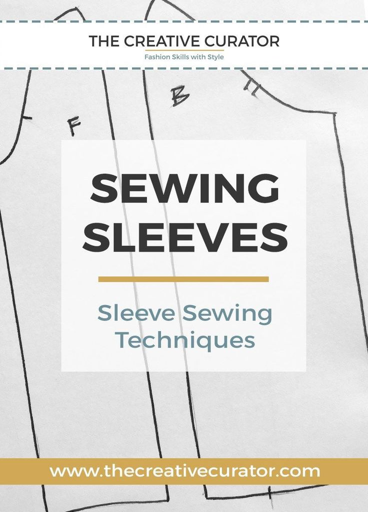 Sewing Beginners - CLICK to read about Sewing Sleeves - 2 Simple Ways To Sew Stunning Sleeves - The Creative Curator