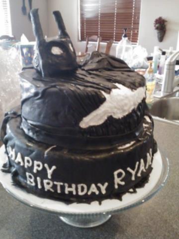 Best My Food And Cake Pics Images On Pinterest Cake Pics - Dark knight birthday cake