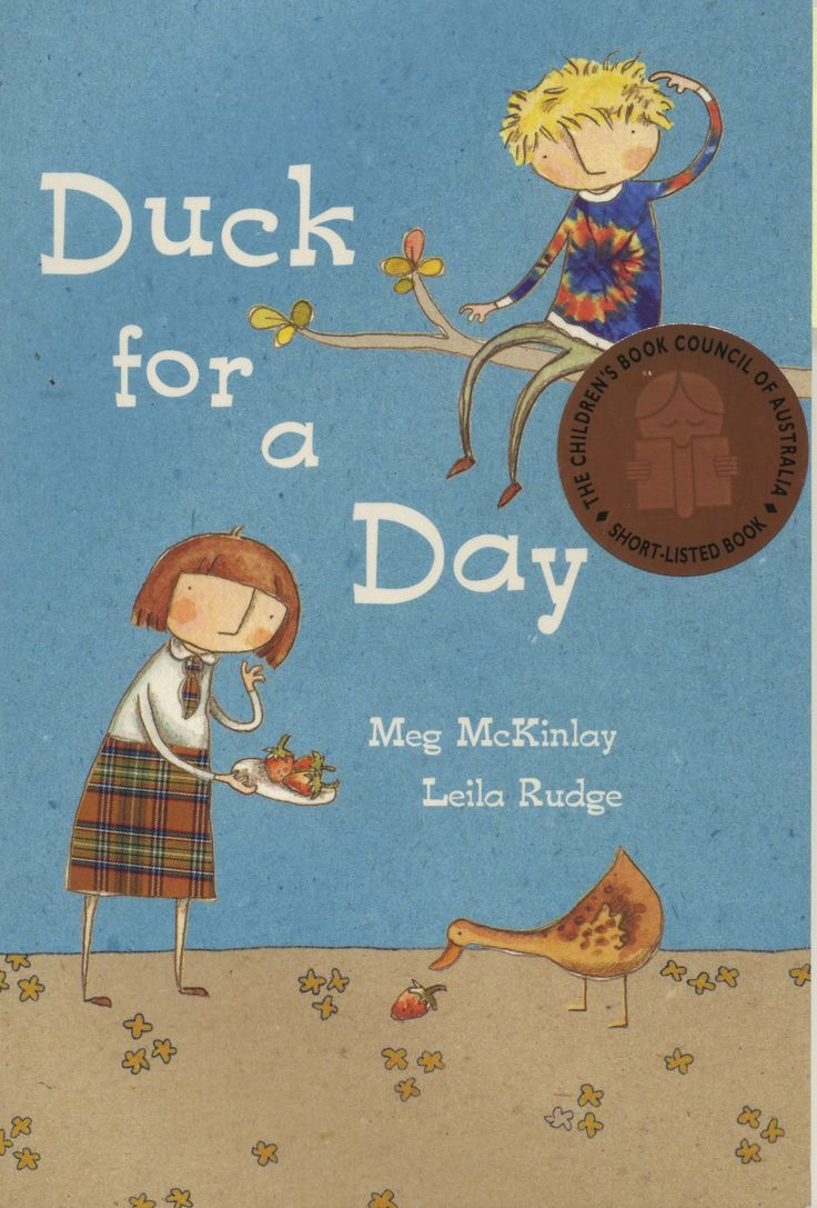 Duck for a Day by Meg McKinley CBCA Shortlist 2011 Young Readers.  FREE Unit of Work for Ages 7-10