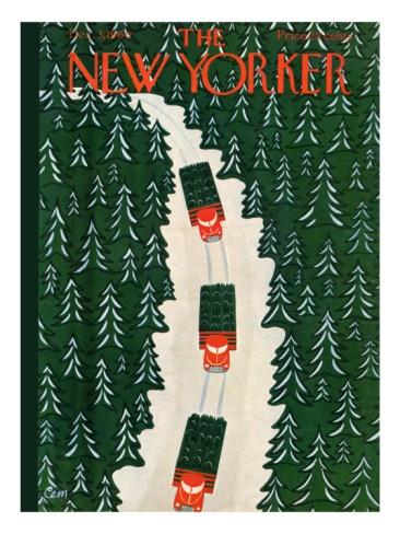 The New Yorker Cover - December 3, 1960 Charles E. Martin