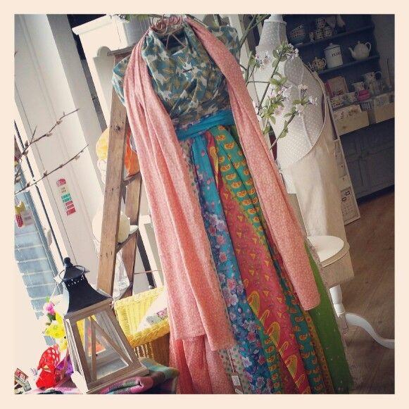 #hemandedge #scarf #dress #lady #spring2014 #teacupsandtrinkets www.teacupsandtrinkets.co.uk