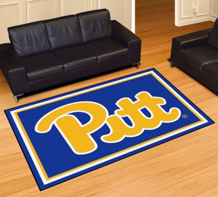 Pittsburgh Panthers Pitt 5 4 x 7 8 Team Spirit Area Rug