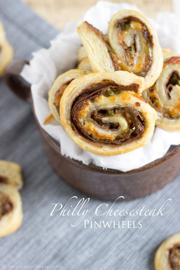 Philly Cheesesteak Pinwheels Recipe Cheese