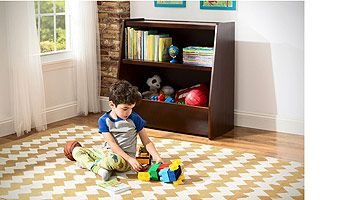 Babies 'R' Us Next Steps Bookcase and Toy Storage - Espresso
