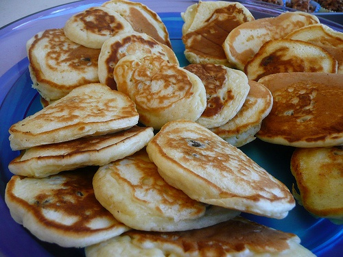 Kids party food - pikelets