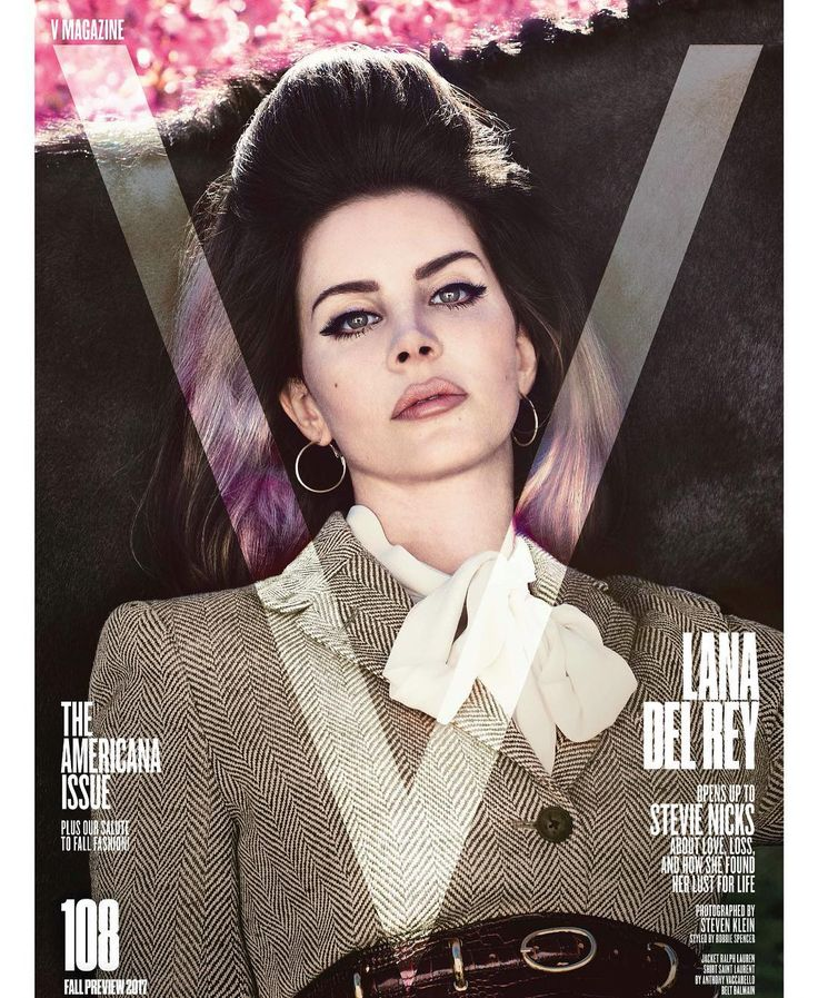 """220.7k Likes, 3,295 Comments - Lana Del Rey (@lanadelrey) on Instagram: """"DAMN. I'm excited about this.! New @vmagazine out July 6 Photos @stevenkleinstudio Styling…"""""""