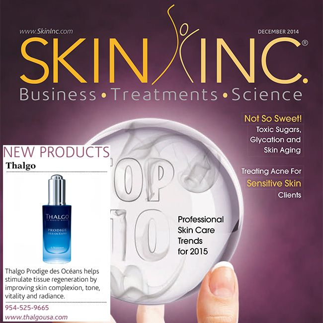 Another great review for our new Prodige des Océans essence from the editors of Skin Inc. magazine! Rediscover flawless skin with this elixir that acts on all layers of the skin to achieve a bright complexion, even skin tone, increased skin vitality and exceptional radiance. http://bit.ly/1qmvpNo
