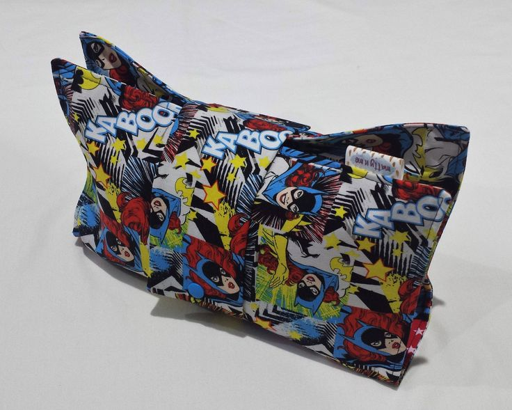Ready To post Nappy Wallet and Travel Change Mat- Babyshower Gift - BatGirl by MattynMe on Etsy