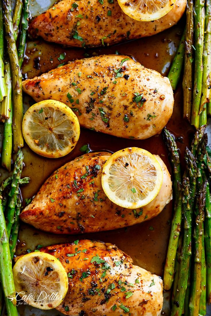 This One Pan Honey Lemon Chicken is so easy to prepare, its a matter of throwing everything onto a baking sheet and letting the oven do the work for you!