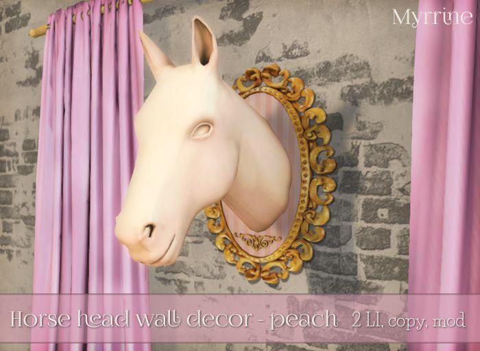 Horse Head wall decor