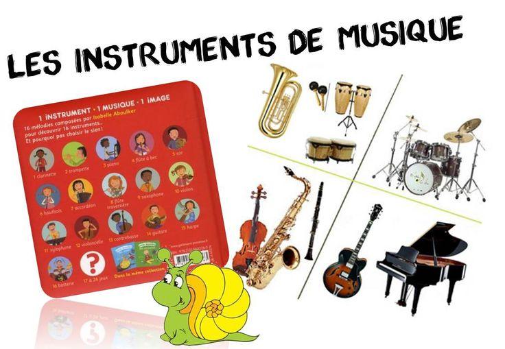 Mes ressources pour travailler sur les instruments de musique - Caracolus