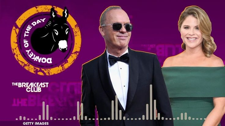 Michael Keaton & Jenna Bush Hager Awarded Donkey Of The Day For Flubbing 'Hidden Figures' @ Golden Globes