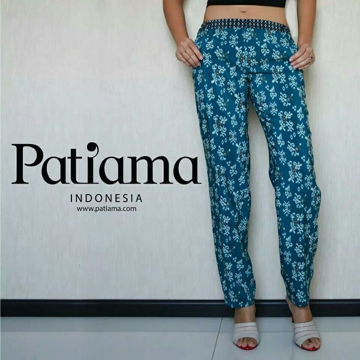 Soft material for trouser make it comfortable when you wear it! www.patiama.com